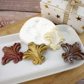 Squires Kitchen Rococo Fleur De Lys Mould   Cake ...