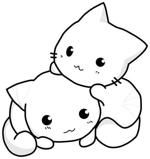 30 Desenhos De Gatos Para Imprimir E Colorir Em Casa Com Imagens