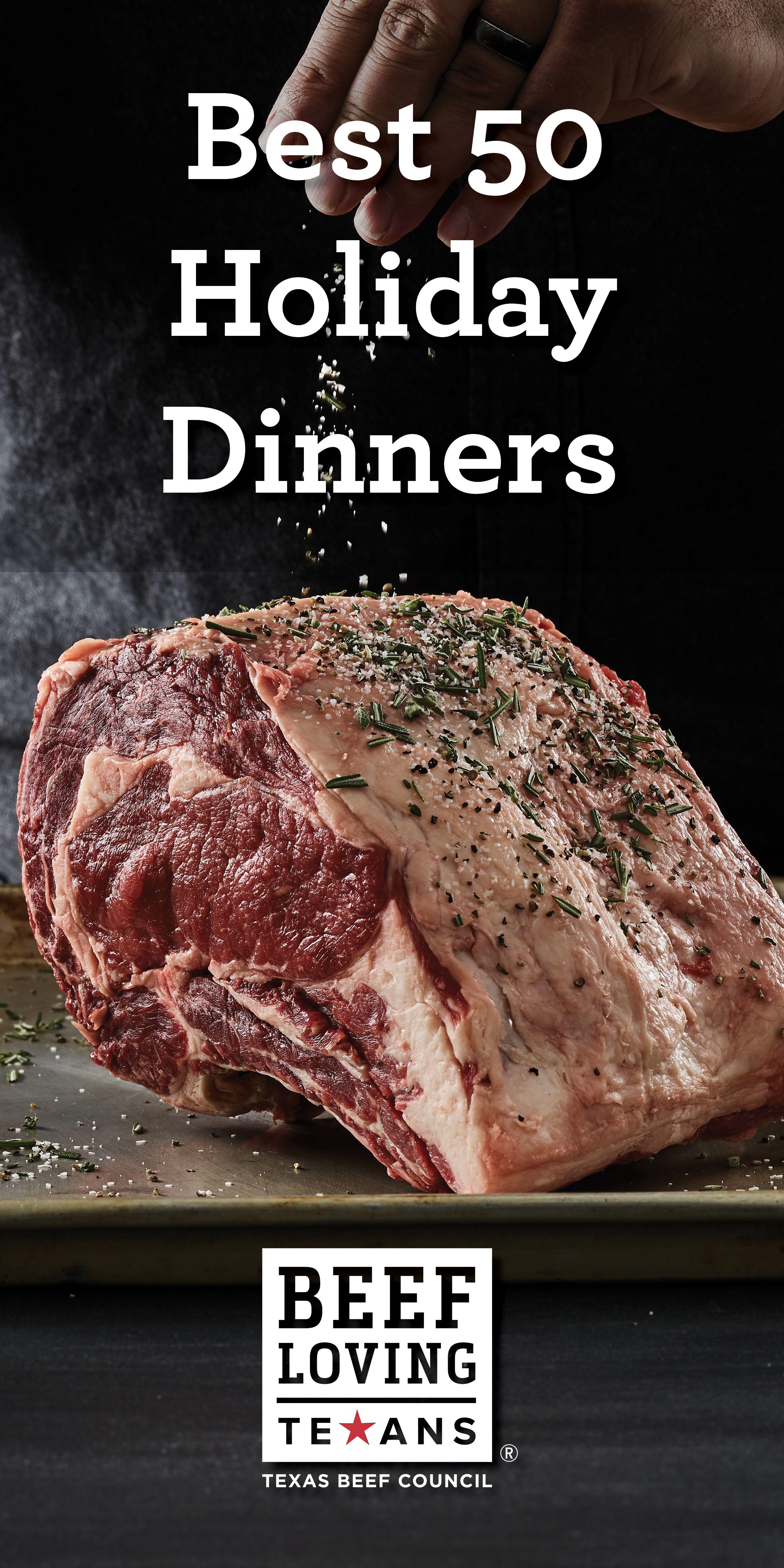 50 Holiday Recipes And Menu Ideas Holiday Dinner Holiday Dinner Recipes Holiday Recipes