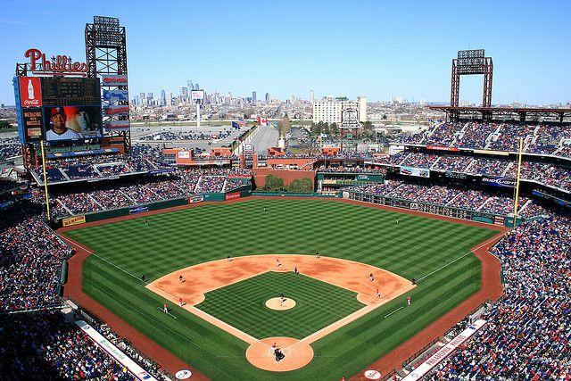 Citizens Bank Park Baseball Park Phillies Mlb Stadiums