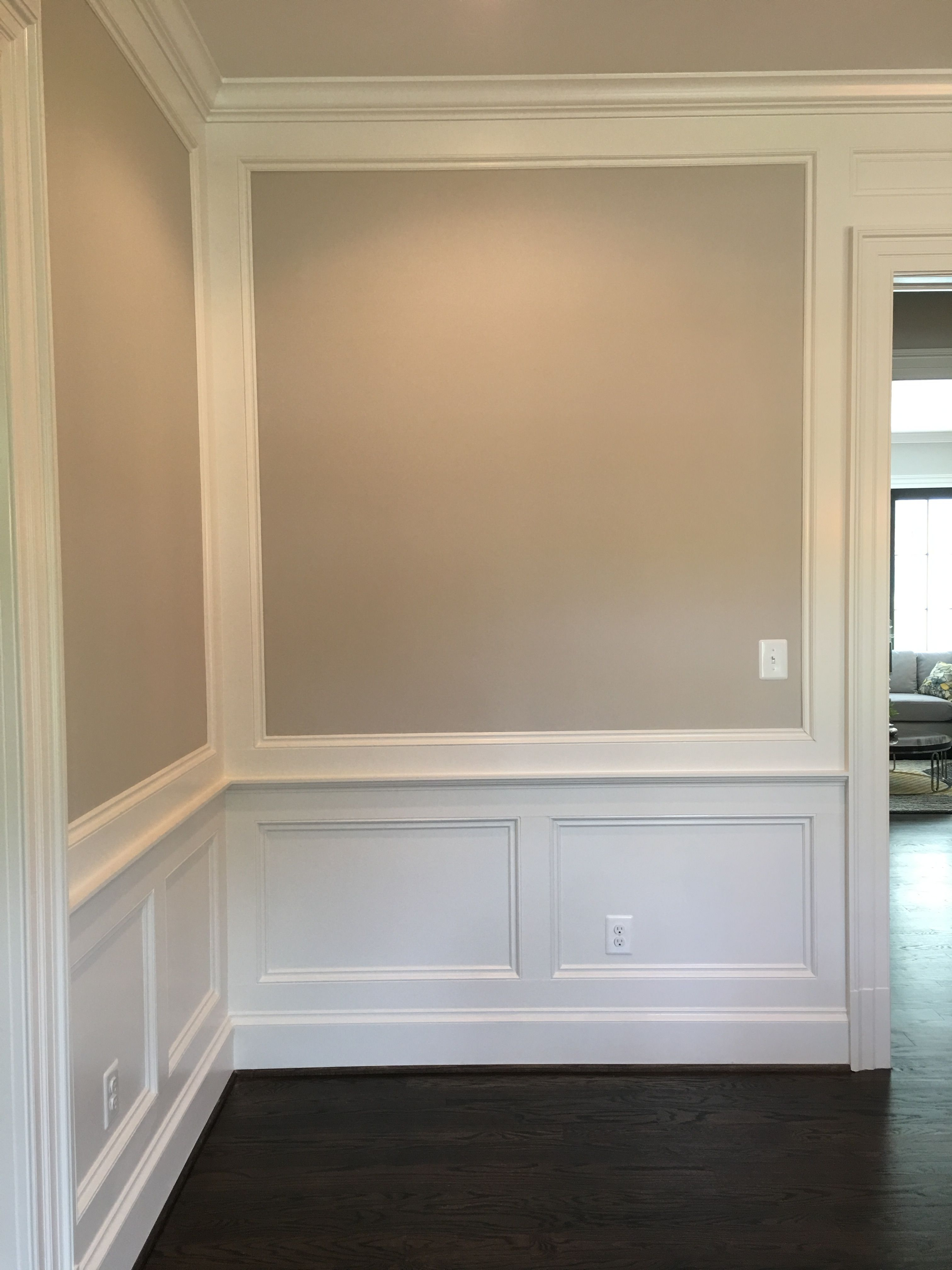 Pin By Rachel Kolly On Molding Trim Plaster Wainscoting Styles Dining Room Wainscoting Accent Walls In Living Room