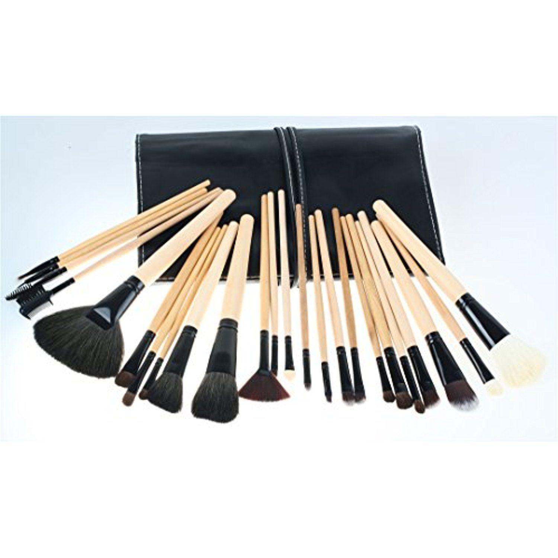 RoseFlower 24 Pcs Professional Cosmetic Makeup Brushes Set