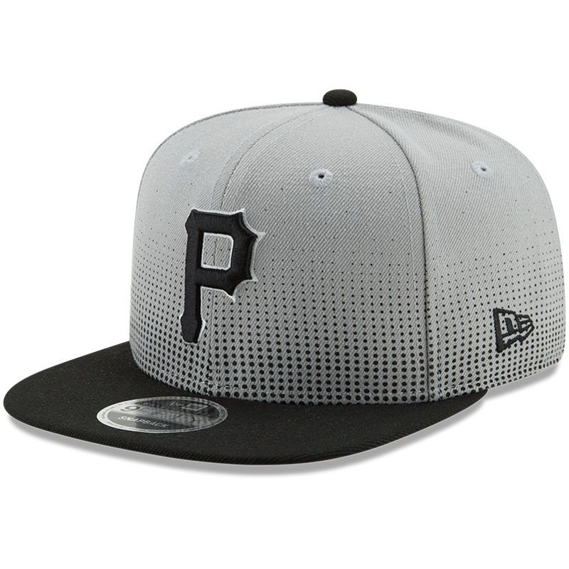online store a9f96 d9f5e Pittsburgh Pirates New Era Flow Team 9FIFTY Adjustable Snapback Hat - Gray  Black