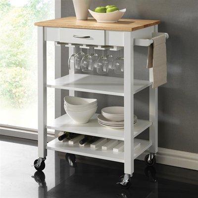 Coaster Fine Furniture Kitchen Islands  Cart 910025 Kitchen Cart - küchenwagen mit schubladen