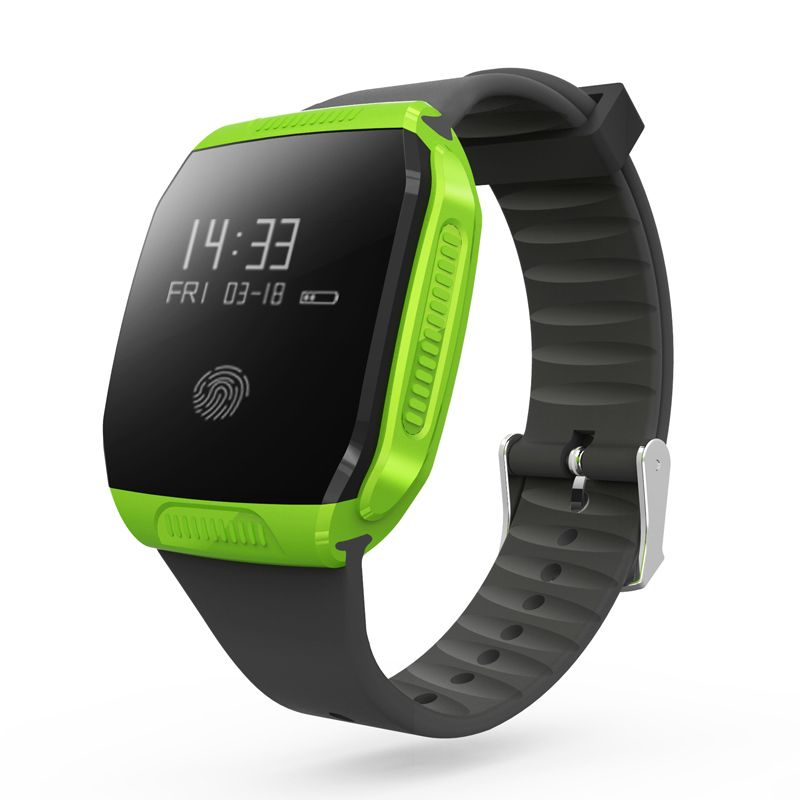 Wasserdichte E07S Bluetooth 4,0 GPS Smart-Armband Sport