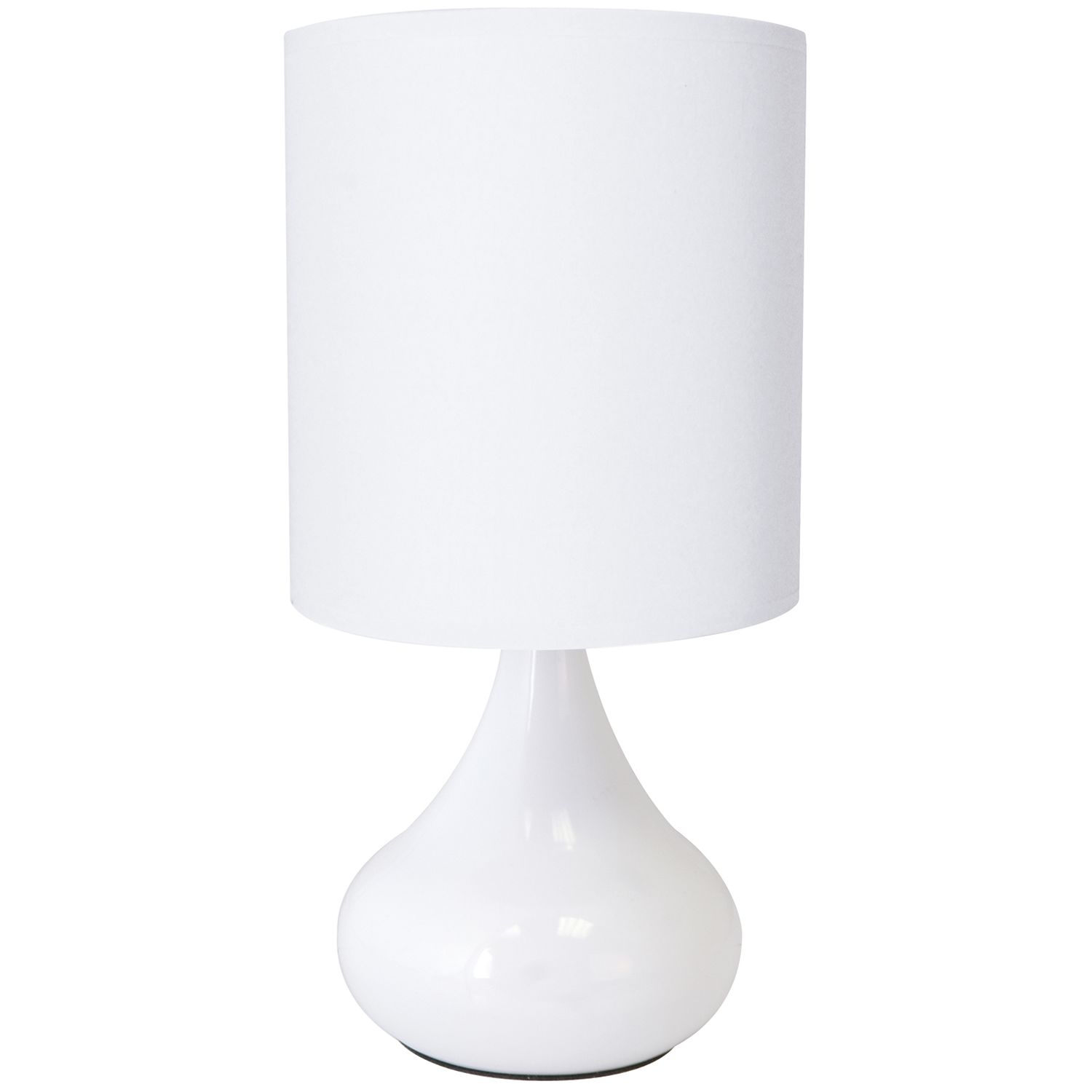 Bedroom Touch Lamps | ... Touch Lamp U2013 Next Day Delivery Lloytron White  Zenith
