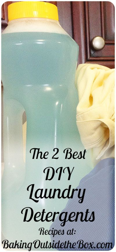My Two Favorite Diy Laundry Detergent Recipes Diy Laundry