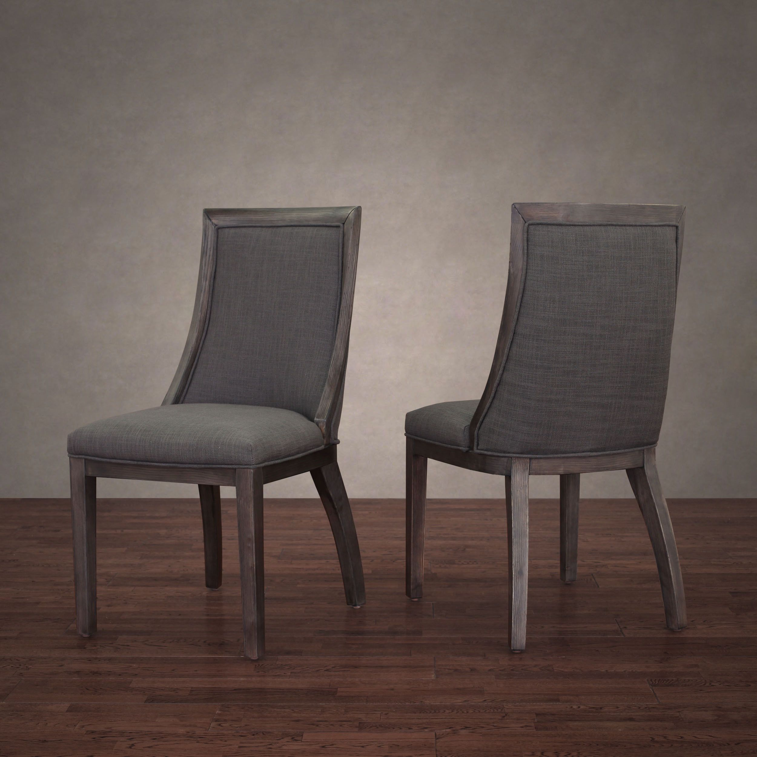 This Set Of Two Park Avenue Chairs Feature Comfortable And Durable Fire  Retardant Foam Cushioning And