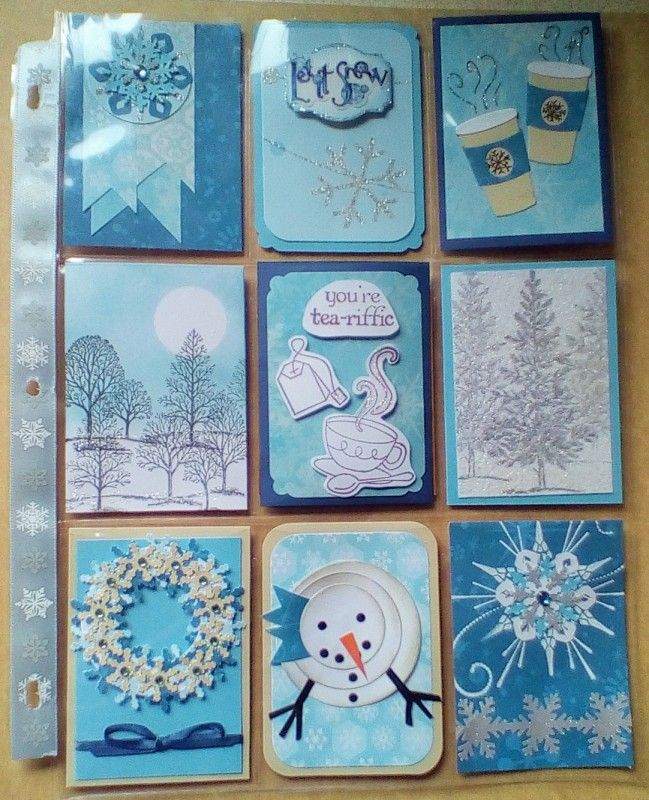 Winter Pocket Letter by sbishop15 - Cards and Paper Crafts at Splitcoaststampers