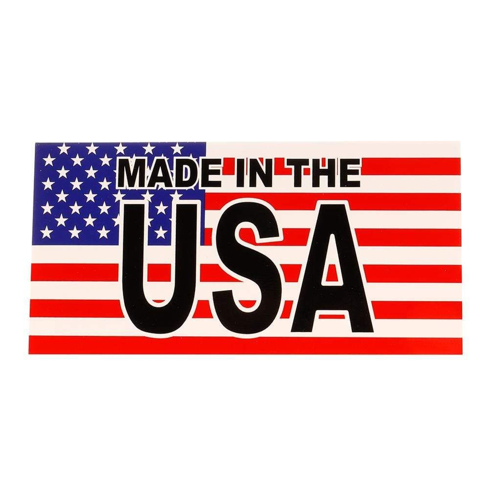 Ruffin Flag Company In Made In The Usain Flag Sticker In 2020 Flag Company Usa Flag Stickers Flag