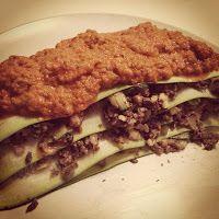 Vegan and Healthy : Pilz-Mandel-Lasagne mit Tomatencreme & Produktvors...