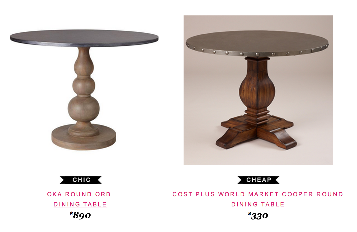 Reader Request Furniture Dining Table Round