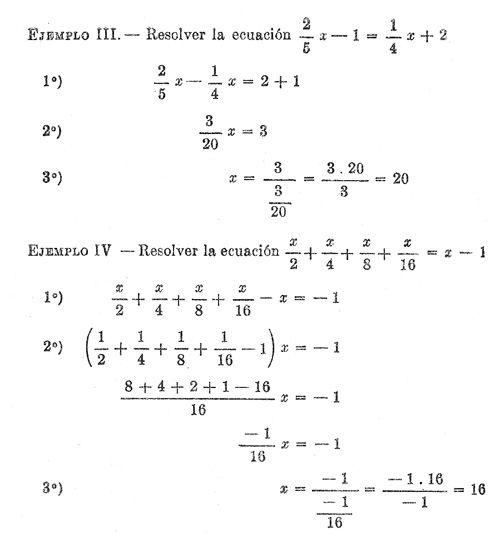 Ecuacion De Primer Grado Con Una Incognita Buscar Con Google Ecuaciones Matematicas Primeros Grados