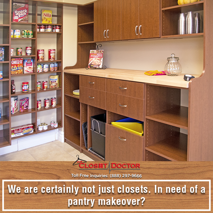 Attractive We Are Certainly Not Just Closets. In Need Of A Pantry Makeover? Call Us