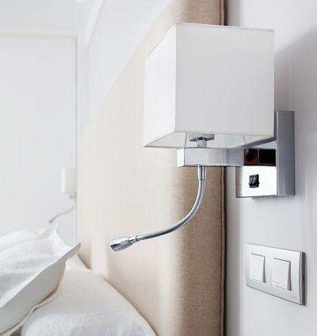 Apliques de pared casa pinterest - Apliques pared dormitorio ...