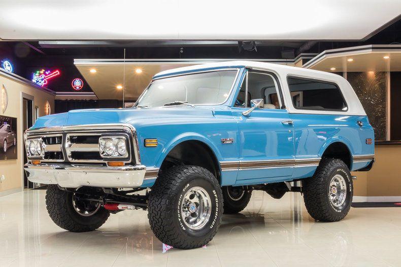 1972 Gmc Jimmy 4x4 Ebay Gmc Chevrolet Blazer Gmc Trucks