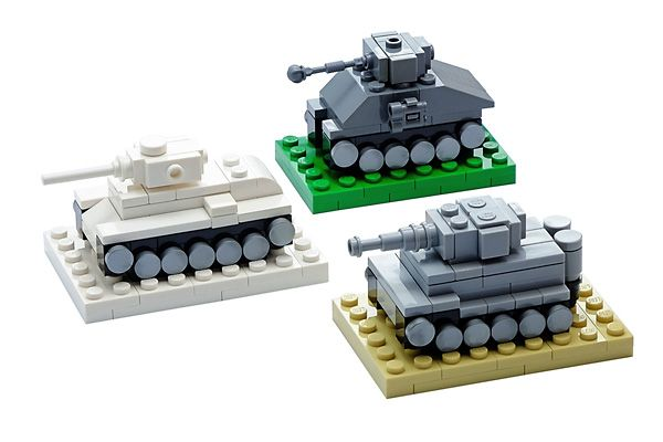 Fill Your Garage With The Historic Ww2 Heroes Mini Tank Set Comes