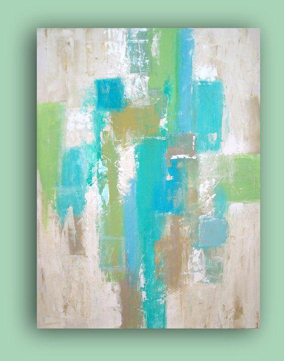 REFLECTION 30x40x3/4 by Ora Birenbaum Original by orabirenbaum, $325.00