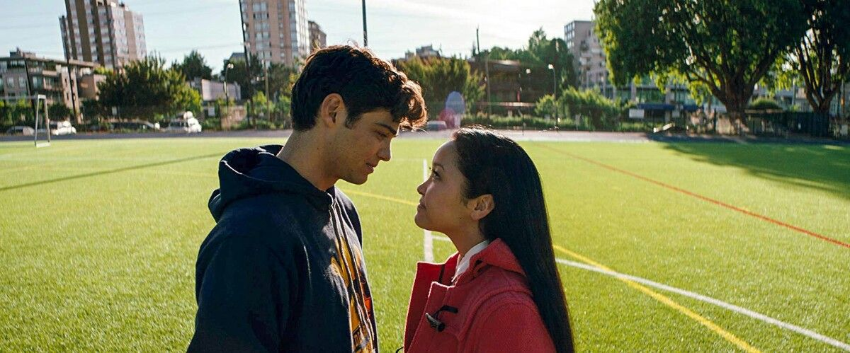 To All The Boys I Ve Loved Before Movie Peter And Lara Jean With
