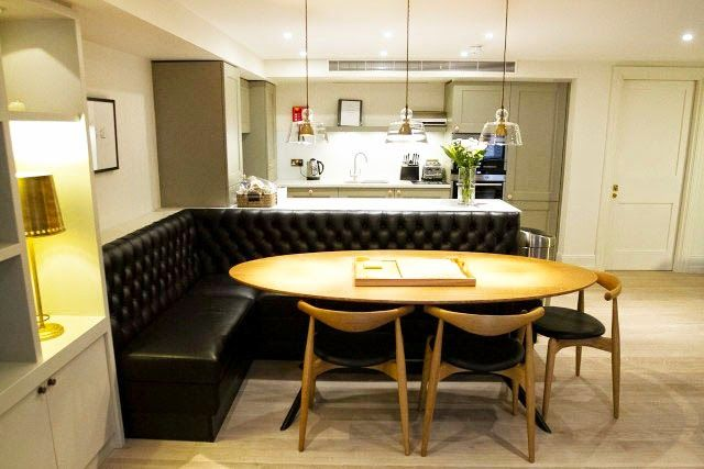 Mesas Com Sofas E Bancos Otimize Espaco E Modernize Sua Cozinha