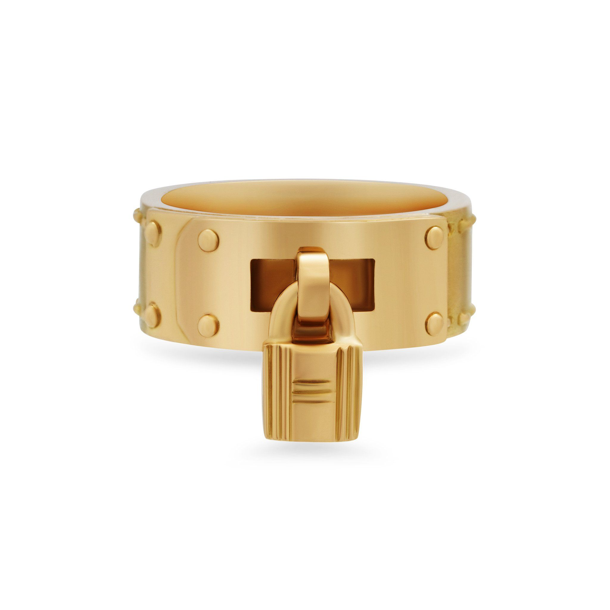 Hermes 18k Yellow Gold Belt Buckle Ring Size 6 25 Buckle Ring Gold Belt Buckle Jewelry Design