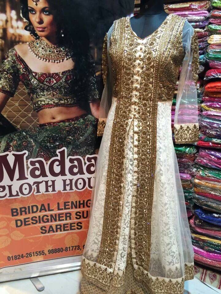 Gorgeous timeless and classy anarkali by Madaan Cloth House