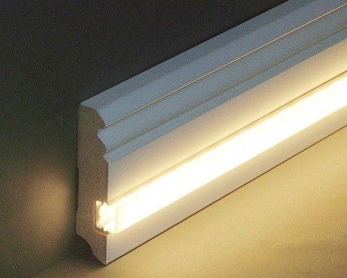 Licht Sockelleisten Lichtleisten Leds Led Beleuchtung Aluminium Profile Komplettsets Vld Trade Led Beleuchtung Beleuchtung Treppenhaus Beleuchtung
