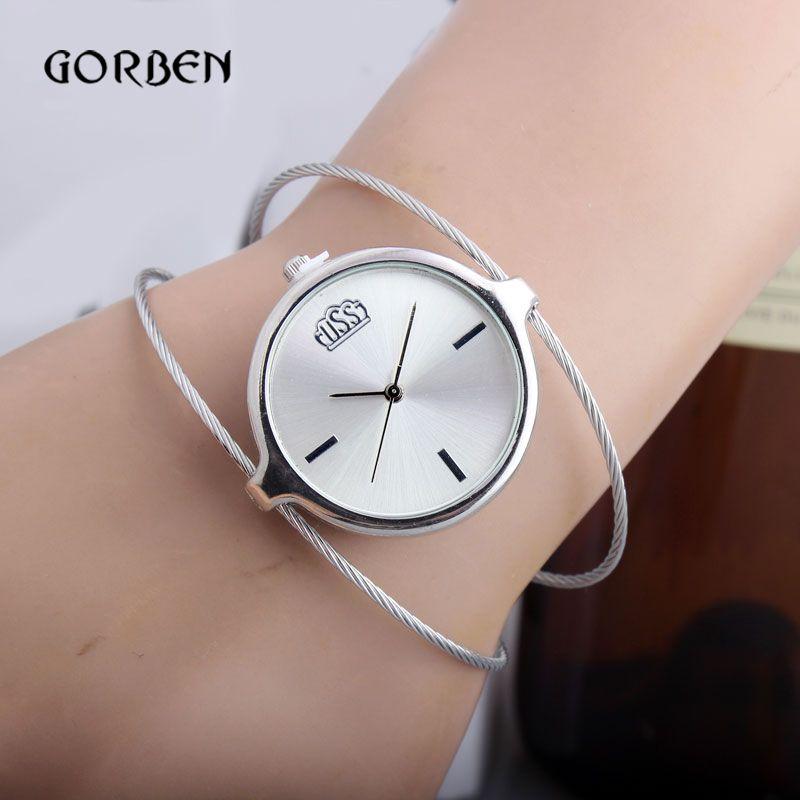 $4.50 (Buy here: https://alitems.com/g/1e8d114494ebda23ff8b16525dc3e8/?i=5&ulp=https%3A%2F%2Fwww.aliexpress.com%2Fitem%2FNew-women-female-watch-Stylish-Designed-Bangle-Bracelet-Quartz-Wrist-Watch-Girl-Women-s-Lady-hour%2F32389829185.html ) Vintage Women Watch Fashion Design Bracelet Bangle Quartz Ladies Watch women Female hour Gifts Relojes Mujer Relogio Feminino for just $4.50