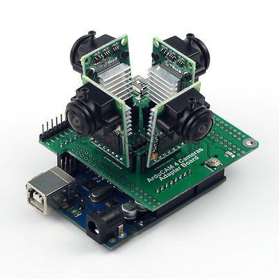 Arducam Mini Multi-Camera Adapter Board for Arduino UNO R3