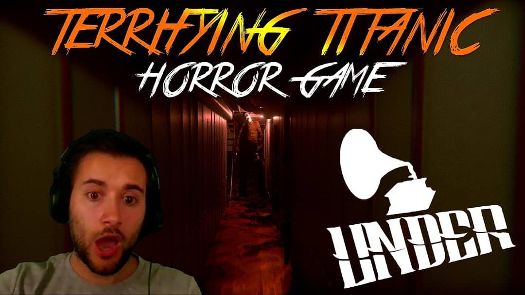 This Titanic Based Horror Game Is Amazing Can T Wait For The Full Game To Be Released Terrifying Titanic Horror Game Und Titanic Horror Game Full Games