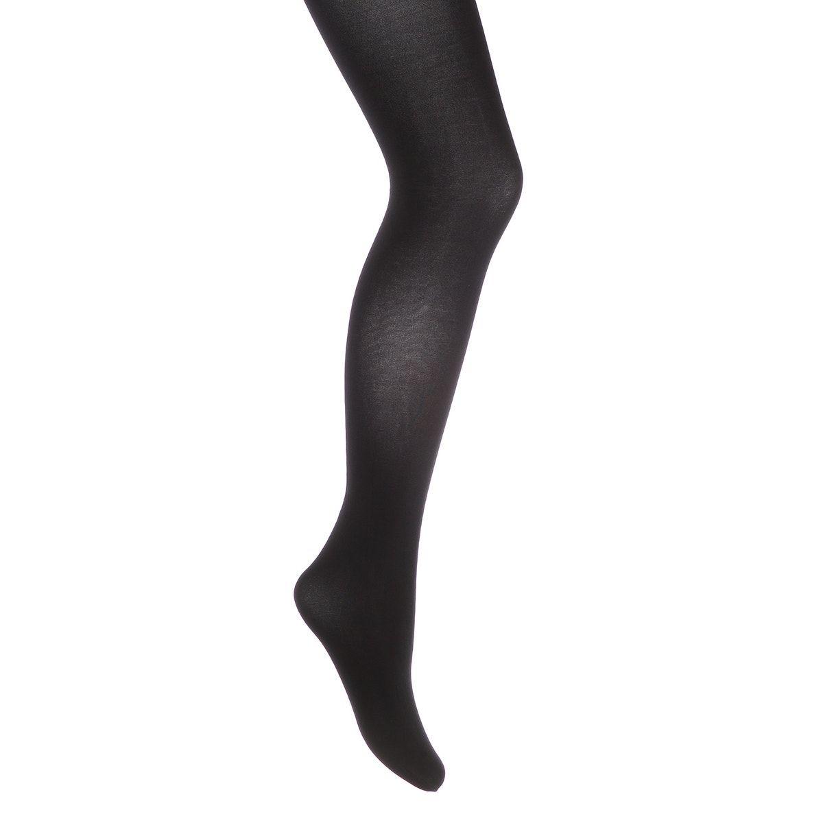 Plus size plain black tights. 40 denier.product details•plus size•40 denierfabric content & care advice•95% polyamide, 5% elastane