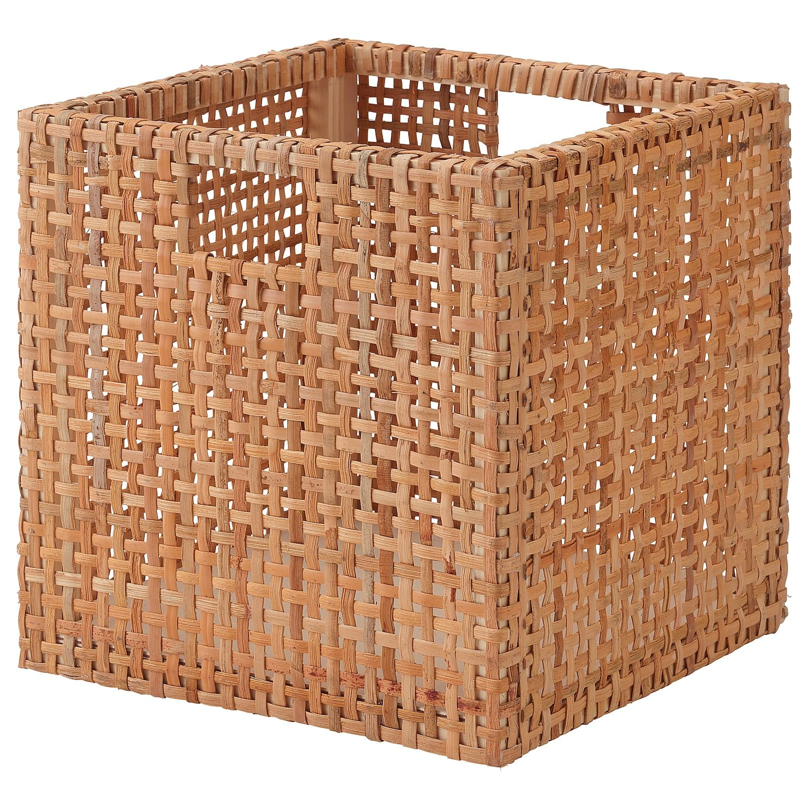 Haderittan Panier 30x30x30 Cm Ikea In 2020 Ikea Basket Wicker Baskets Storage Eket