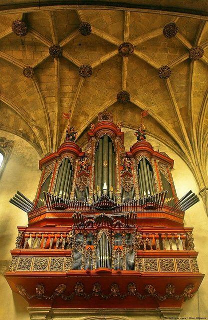 Órgão da Igreja de Santa Cruz - Coimbra - Portugal
