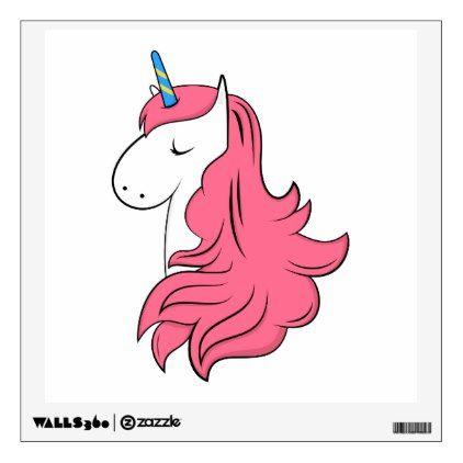 Fabulous unicorn wall sticker