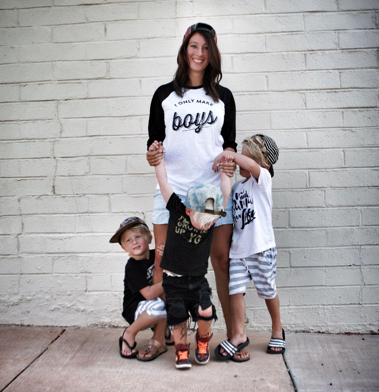 I Only Make Boys Tshirt Mom Of Boys Mama To Boys Shirt Mom