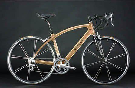 Bicicleta con marco de Bambú-Guadua.