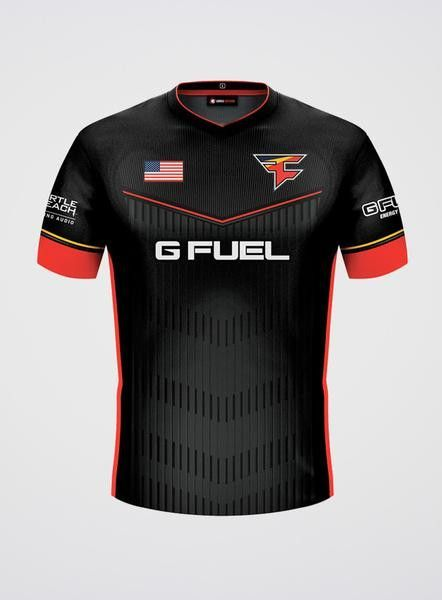 FaZe Clan Jersey (2016) Black | Jersey Designs | Sports
