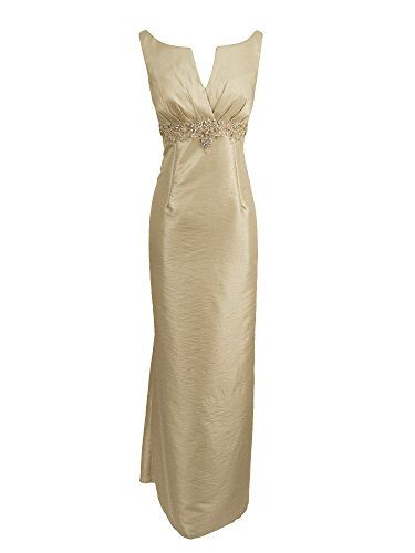2Be Bridal 2BF125A Boat Neck Sheath MotheroftheBride Dress  Bisque size 8 ** Learn more by visiting the image link.