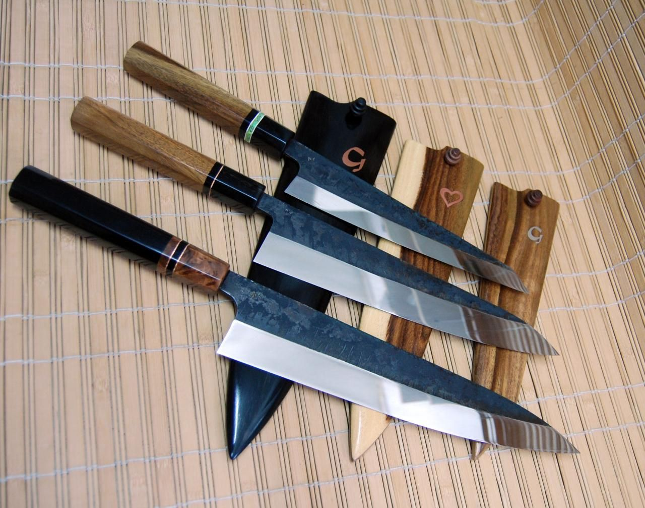 japanese style kitchen knives tc blades www tcblades net japanese style kitchen knives tc blades pinterest kitchen 4489