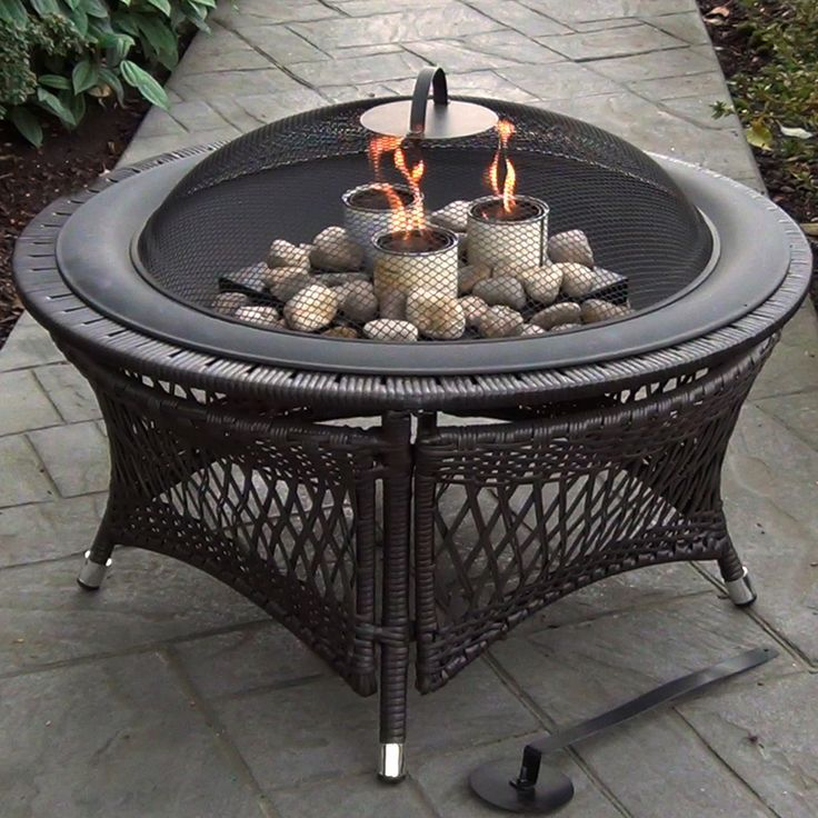 Rio Gel Fuel Fire Pit is environmentally friendly and