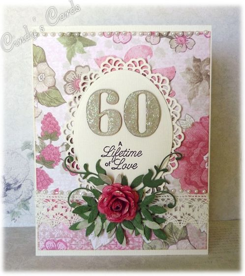 60th Wedding Anniversary By Frenziedstamper Cards And Paper Crafts At Splitcoaststampers