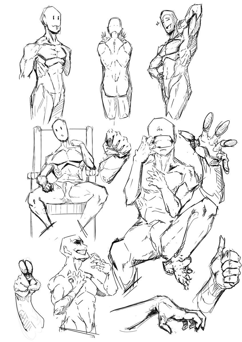 Imagen Figure Drawing Reference Male Figure Drawing Drawing Reference Poses