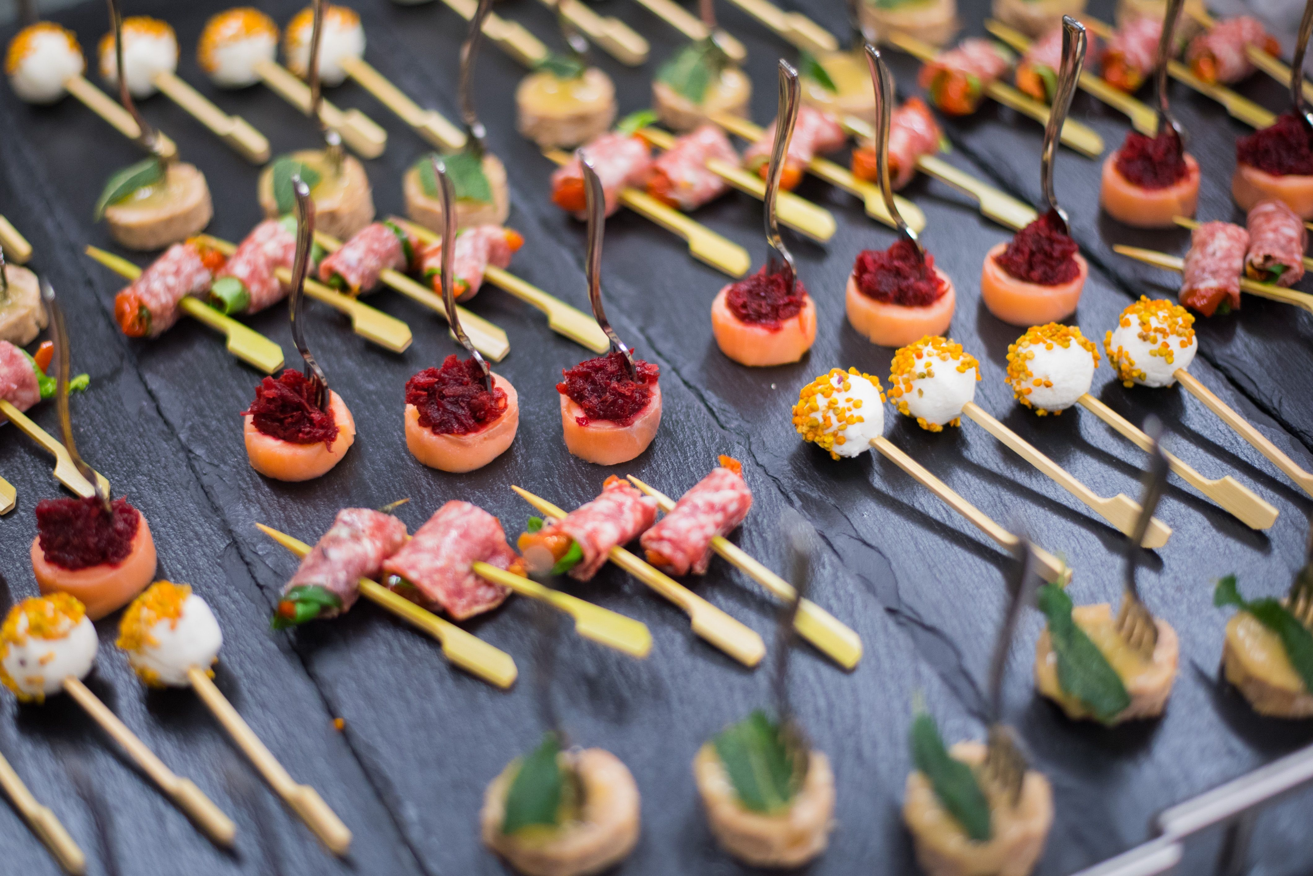Delicious Canapes Provided By Unique Norfolk Venues