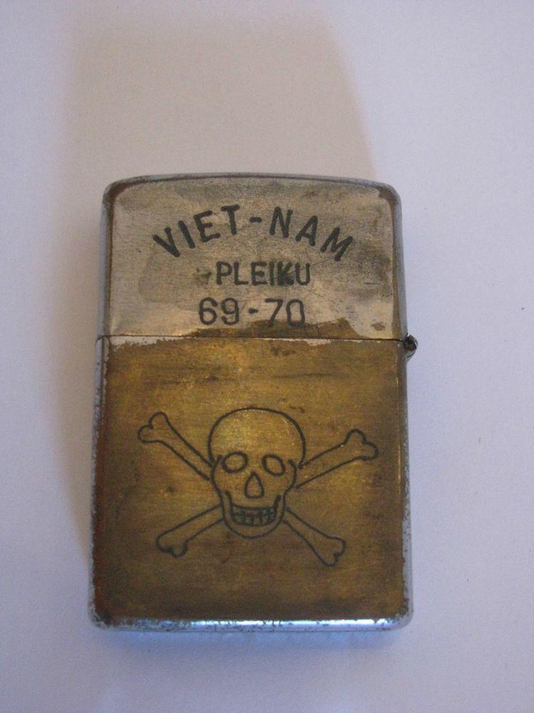 War Zippo Lighters Vietnam 70 69