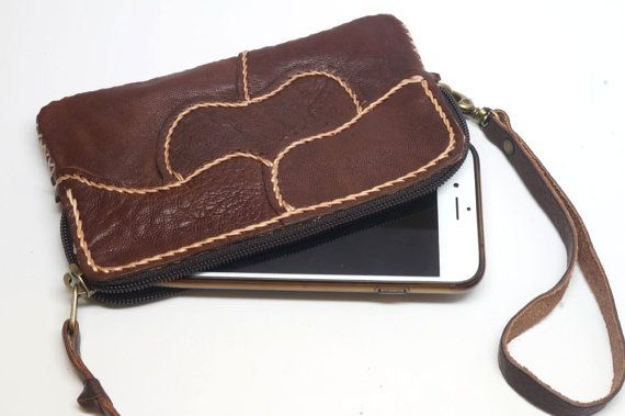 04fd682ebf 100% hand stitched patch work sheep skin Personalized wallet