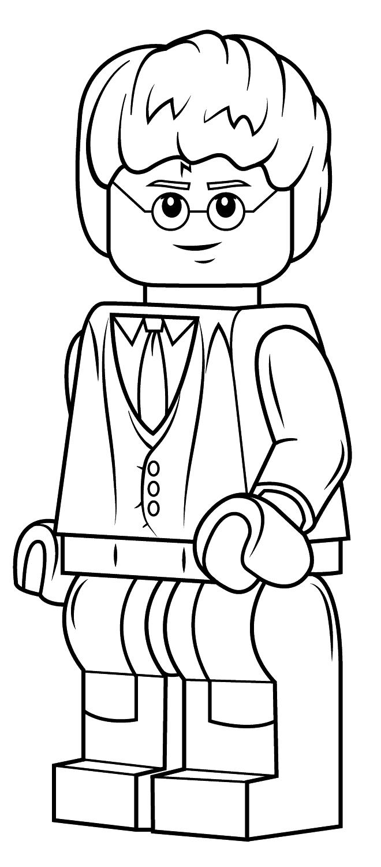 Ausmalbilder Lego Harry Potter e10  Ausmalbilder