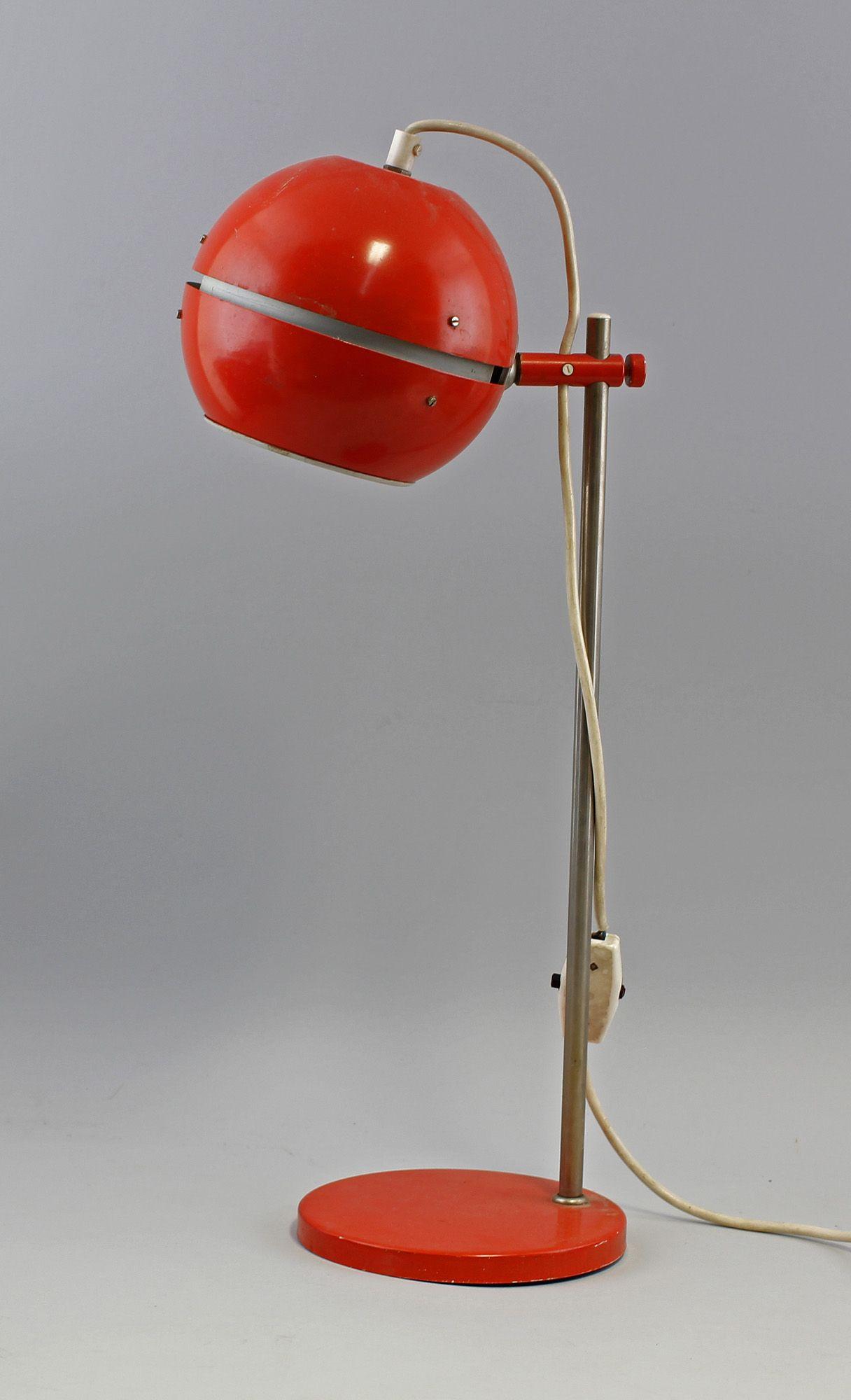 kult lampe ddr 70er jahre kugel schreibtischlampe 7368010 ebay lampen pinterest. Black Bedroom Furniture Sets. Home Design Ideas