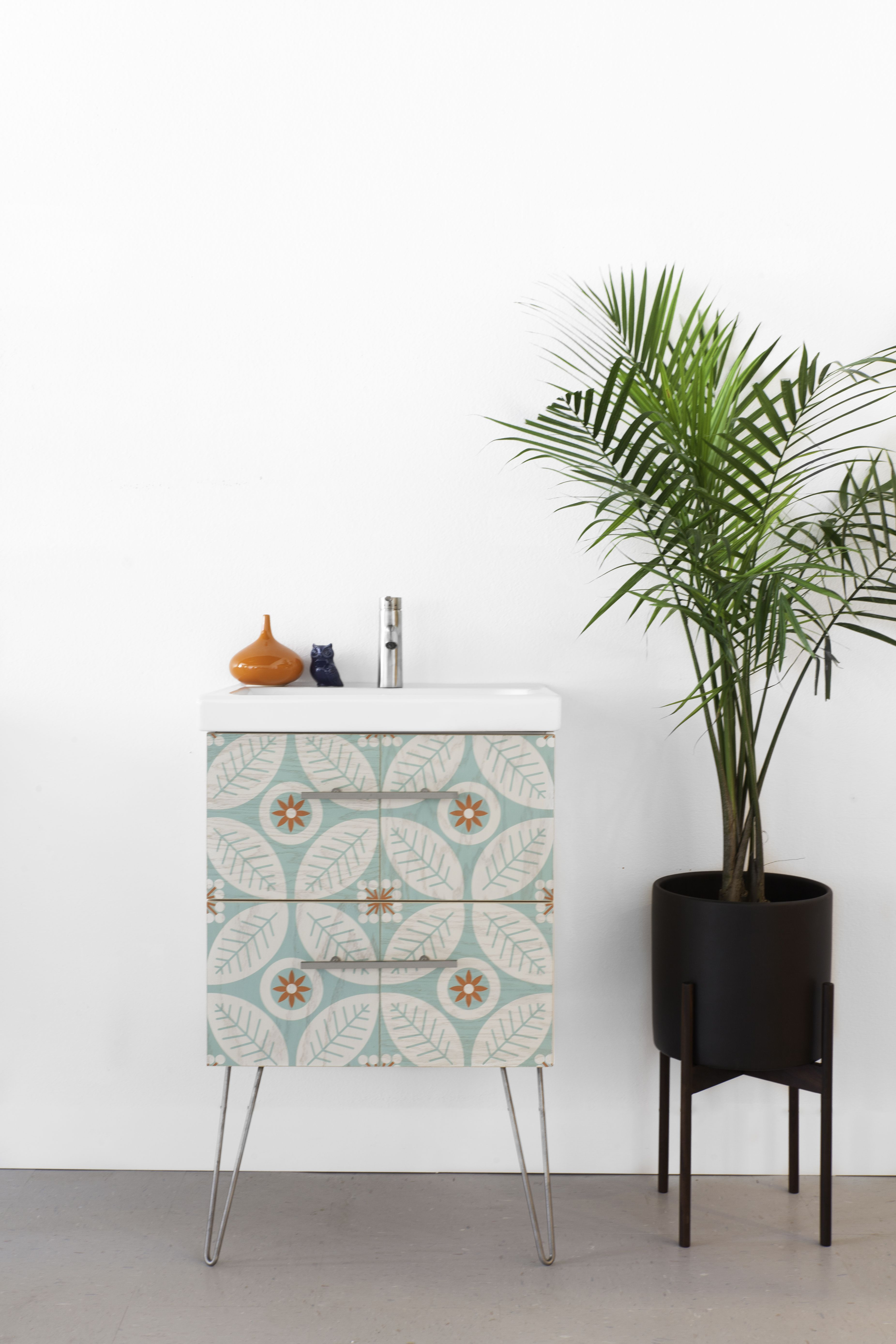 Semihandmade Ikea Godmorgon Bathroom Cabinet With Mirth Studio