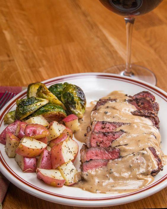 Dieses Fancy Steak Au Poivre Kannst Du Gästen Servieren Und Die