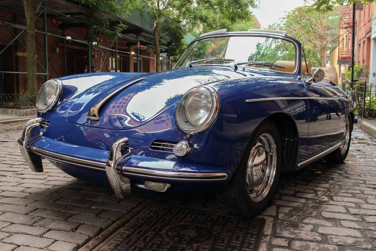 Beautiful 1964 Porsche 356SC. Photo via Hemmings. Lease
